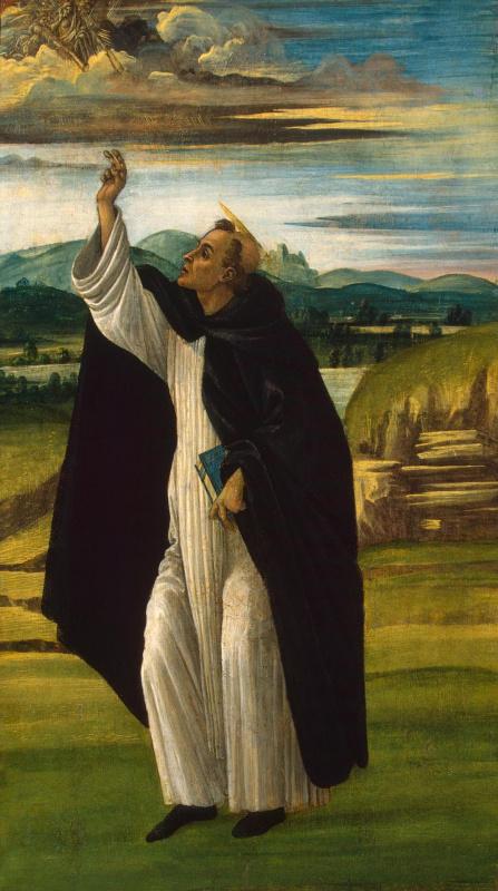 Сандро Боттичелли. Святой Доминик