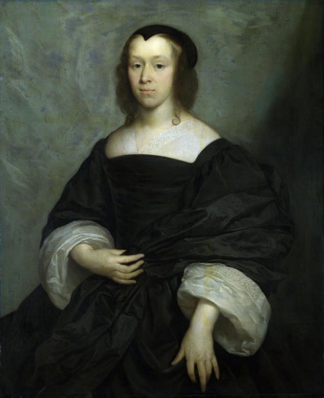 Корнелиус Джонсон. Портрет леди