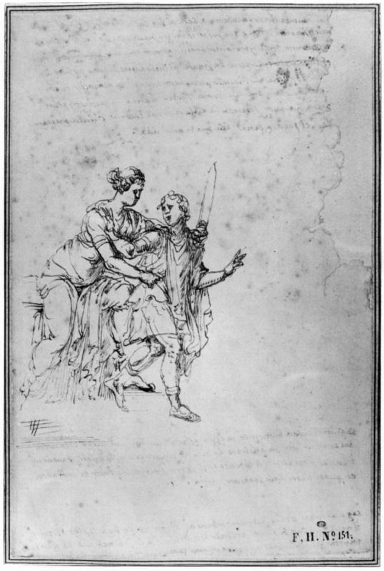 Пирро Лигорио. Иосиф и жена Потифара