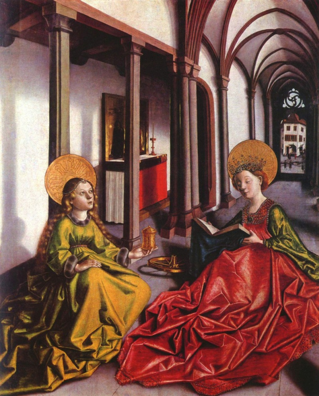 Conrad (Witz) Vic. St. Catherine and Mary Magdalene