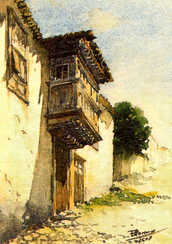 Франсиско Боннин. Балкон