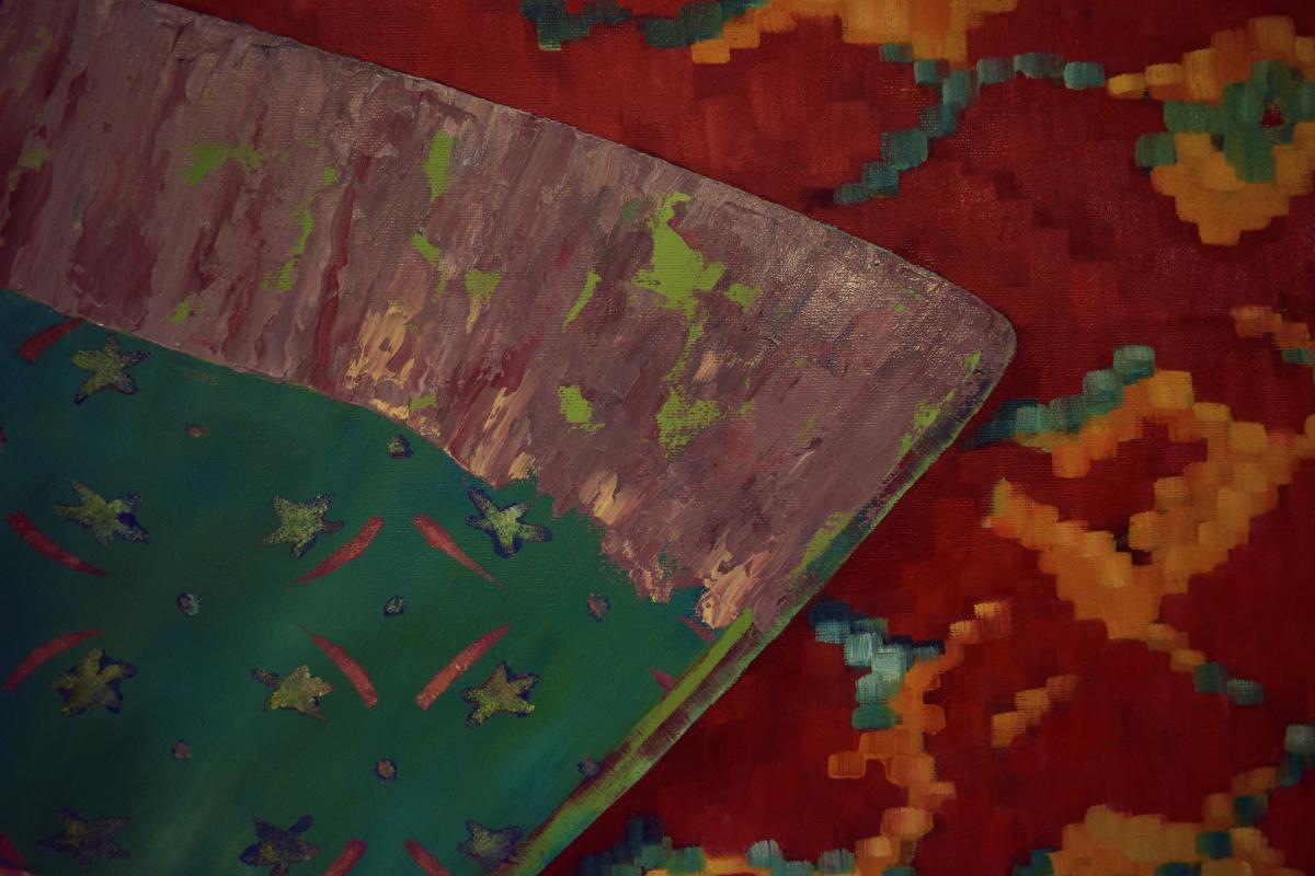MYTH-XIV. EGYPT 110*90 cm, original oil painting