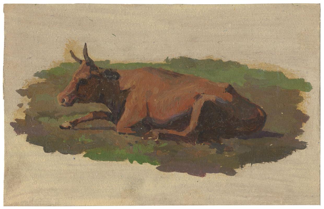 Alexandrovich Rudolf Pavlov. Cow.