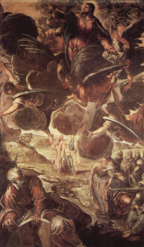 Jacopo Tintoretto. The Ascension Of Christ