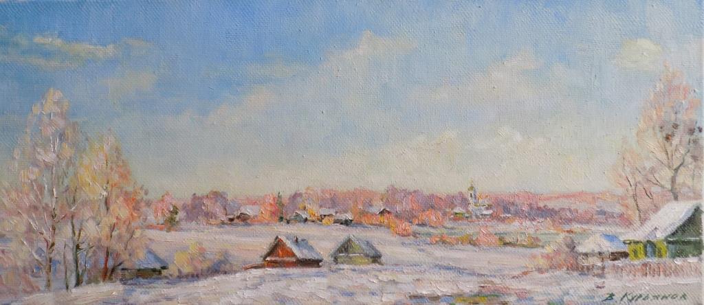Victor Vladimirovich Kuryanov. Frosty distance