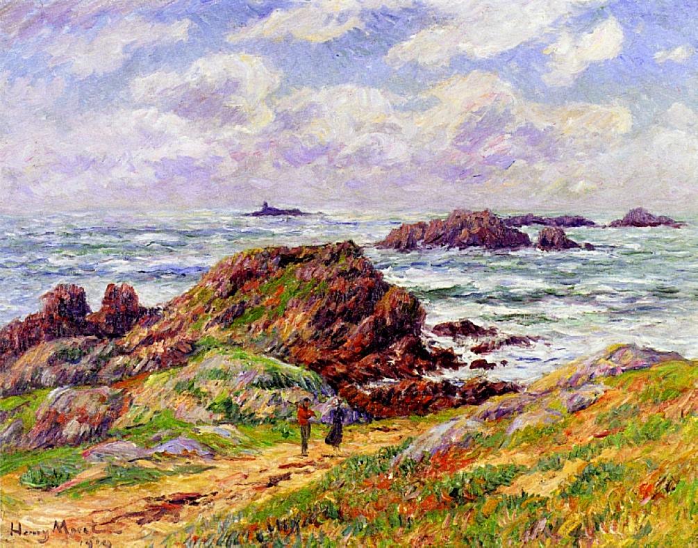 Henry Moret. Cliffs of Finistère
