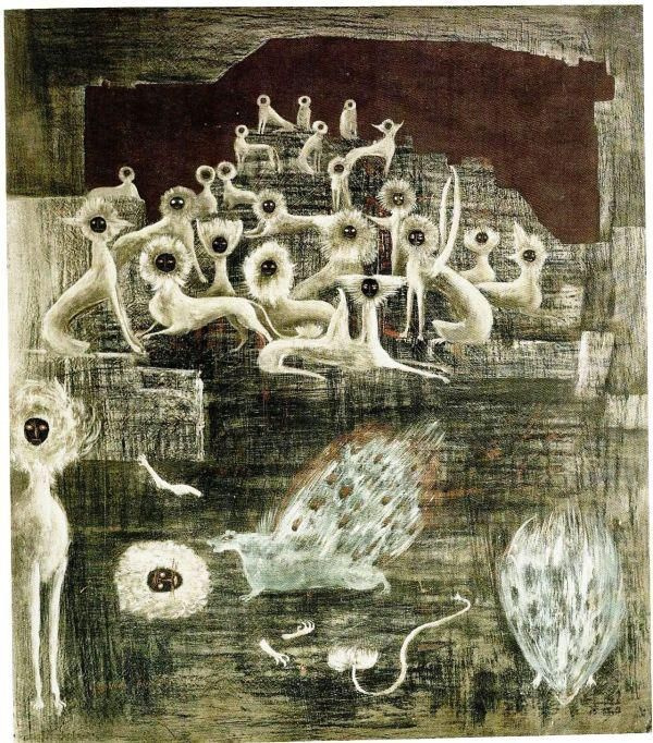 Leonora Carrington. Cats