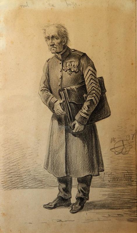 Александр Осипович Орловский. Инвалид