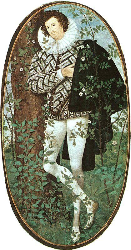 Хиллиар. Мужчина у дерева