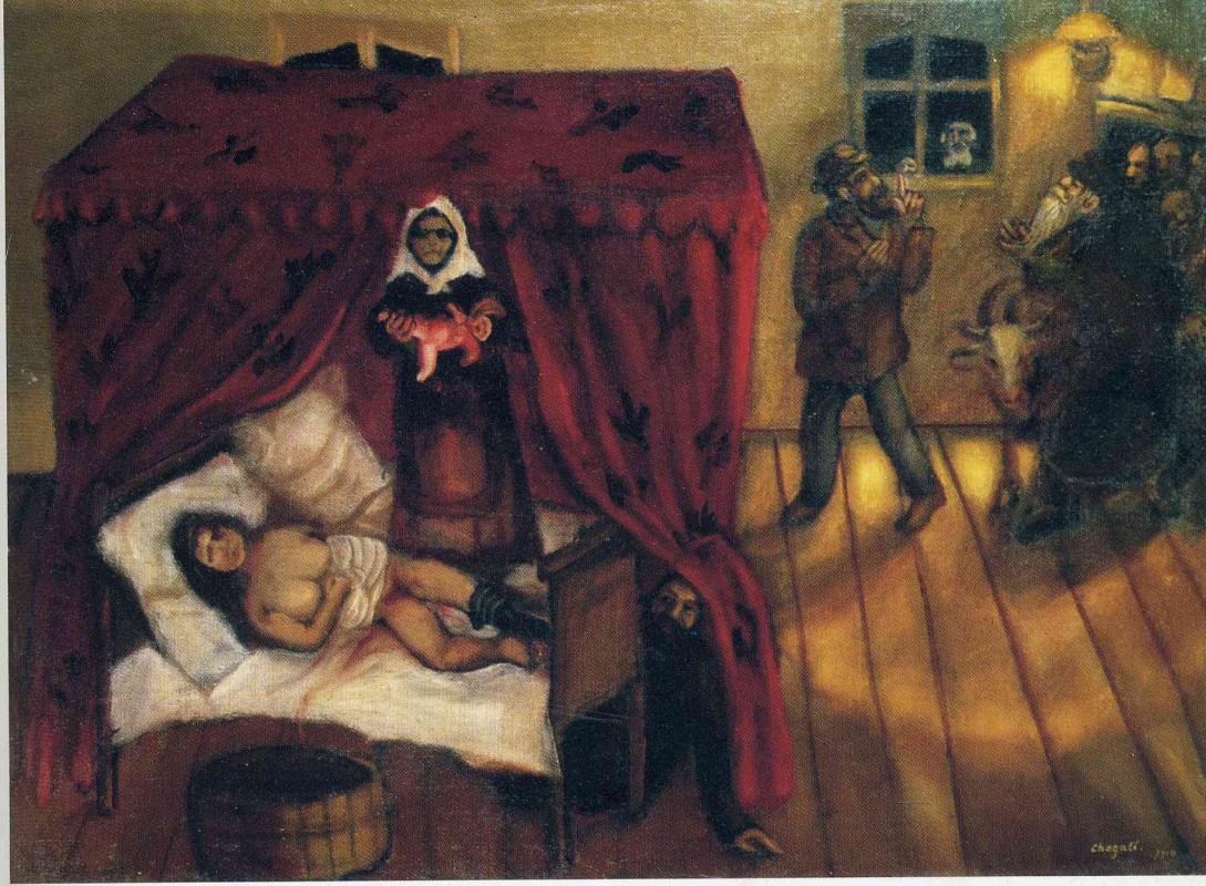 Marc Chagall. Birth