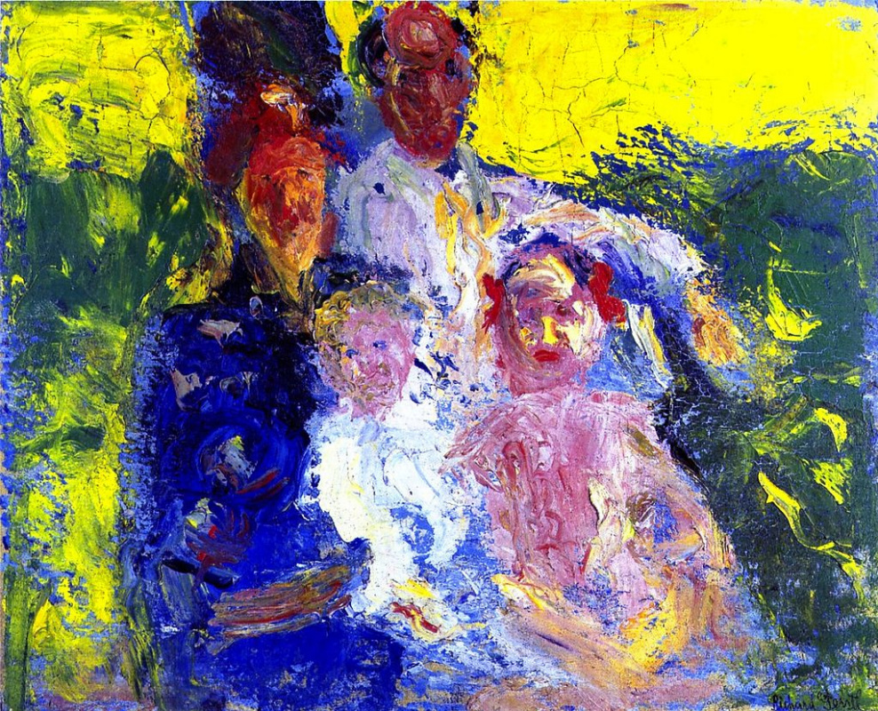 Richard Gerstl. The Family Of Schoenberg