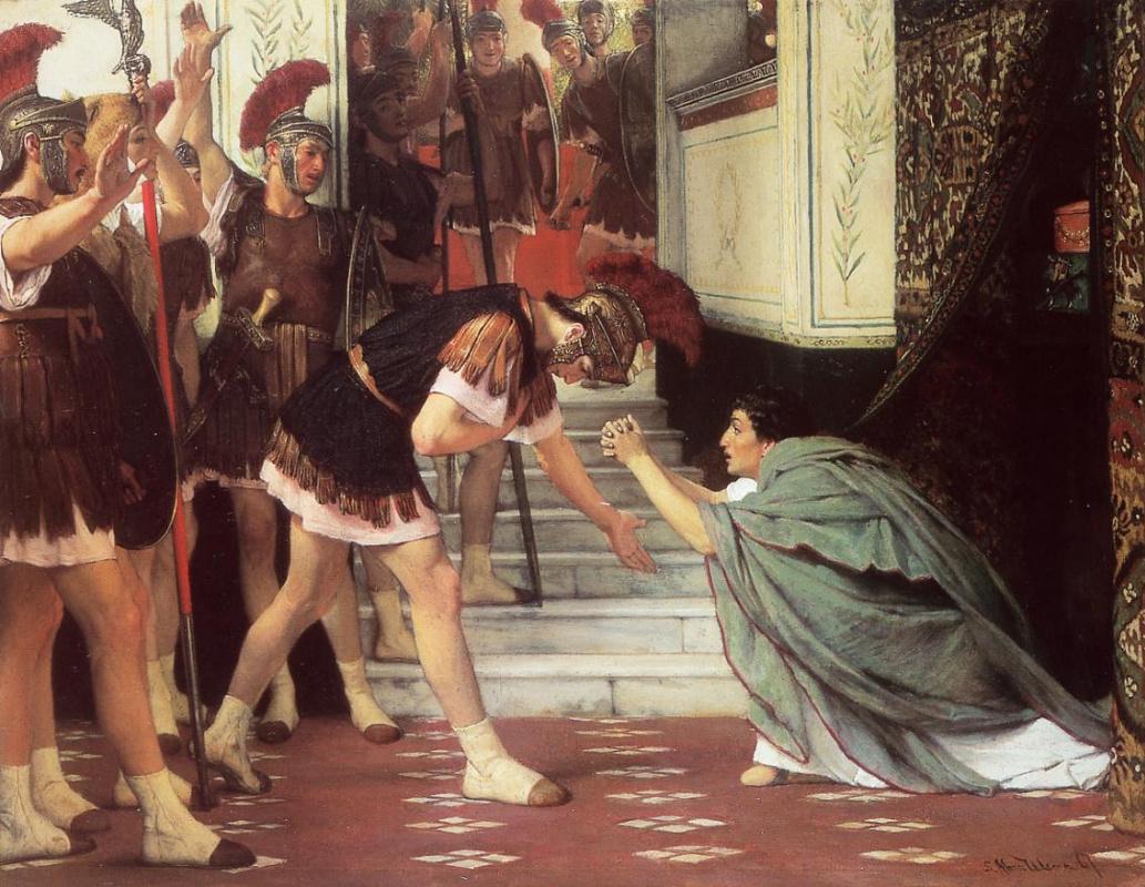 Лоуренс Альма-Тадема. Провозглашение императора Клавдия
