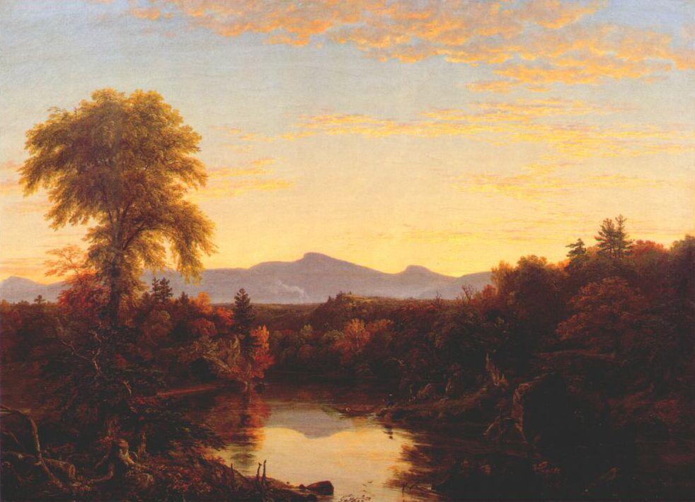 Thomas Cole. The Catskill Creek