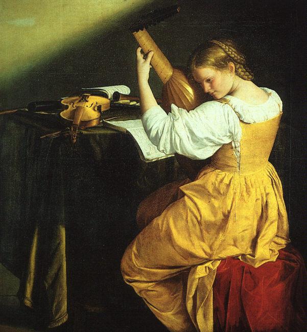Орацио Джентилески. Старинная музыка