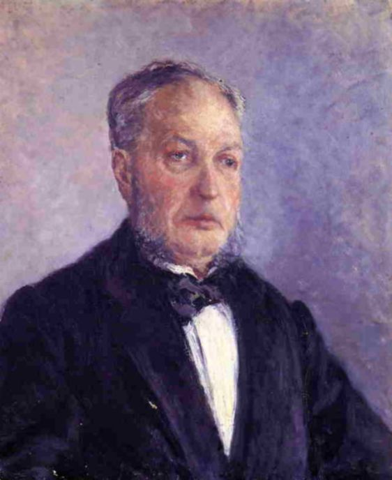 Gustave Caillebotte. Portrait Of Jean Dorale
