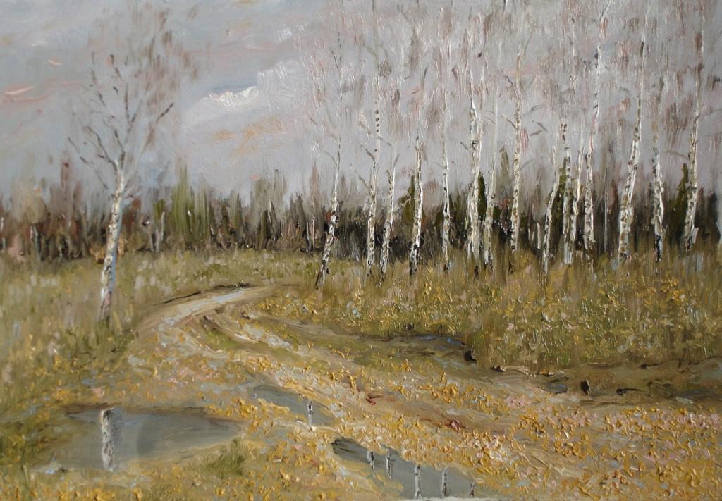 Alexander Sergeevich Terbushev. Baturin birch.
