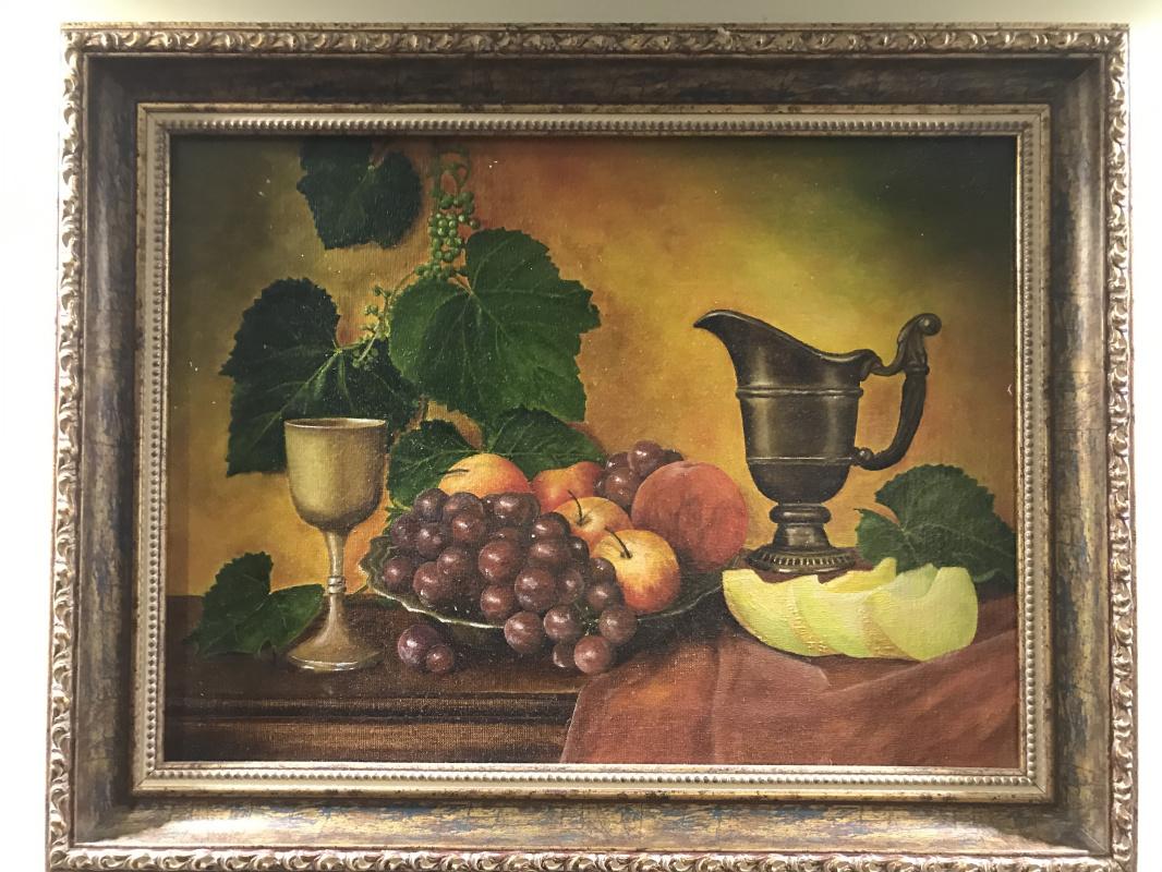 Aram Marinosyan. Still life with fruit