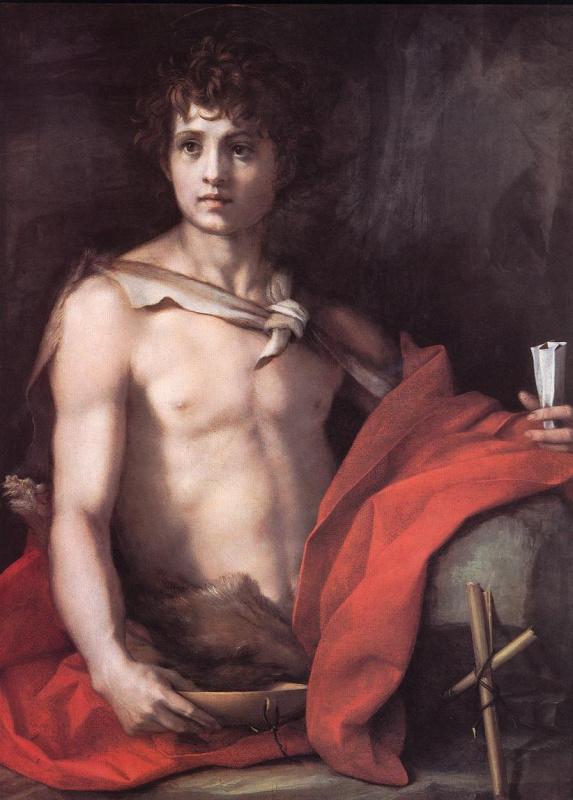 Андреа дель Сарто. Иоанн Креститель