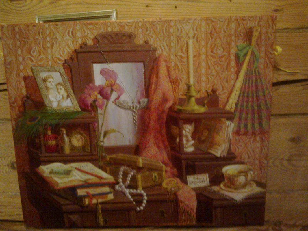Ekaterina Valerievna Derzhavina. Lady's table