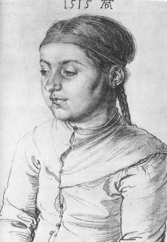 Albrecht Durer. Portrait of a girl