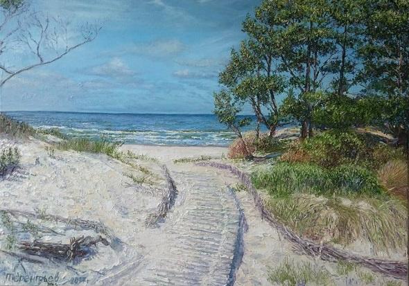 Evgeny Vladimirovich Terentyev. Baltic Dunes
