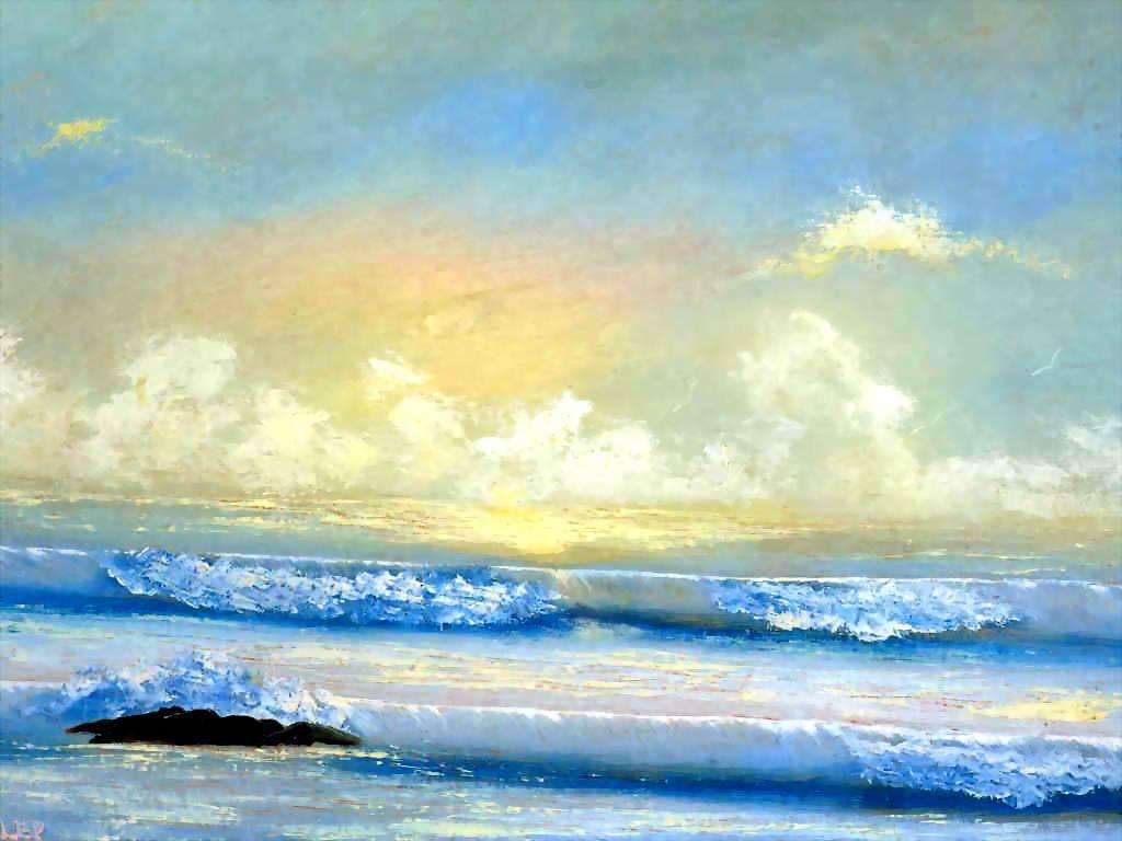 Чарльз Уилер. Морской пейзаж