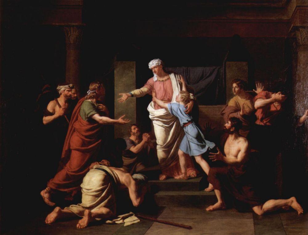 Шарль Чевенин. Иосиф с братьями