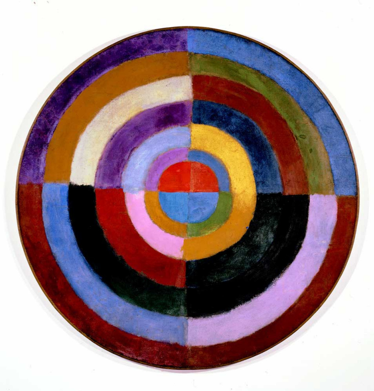 Robert Delaunay. Synchronous drive