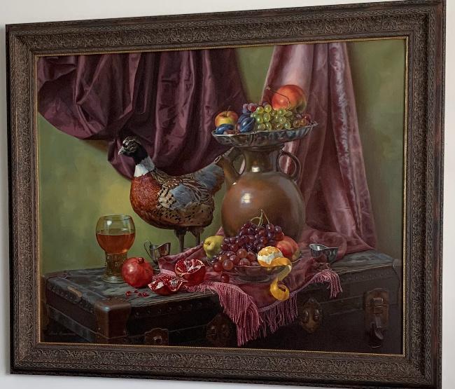 Anna Mukhamedchina. Pheasant still life