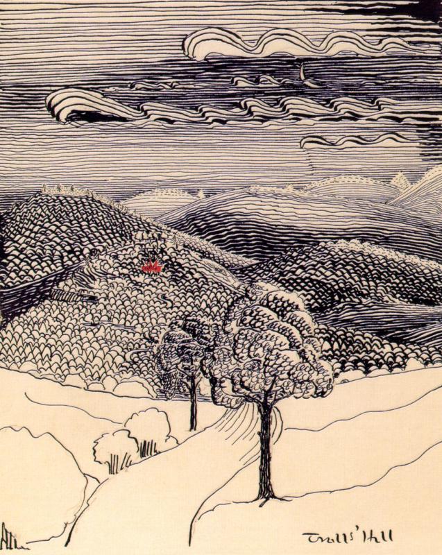 John Ronald Ruel Tolkien. Clouds