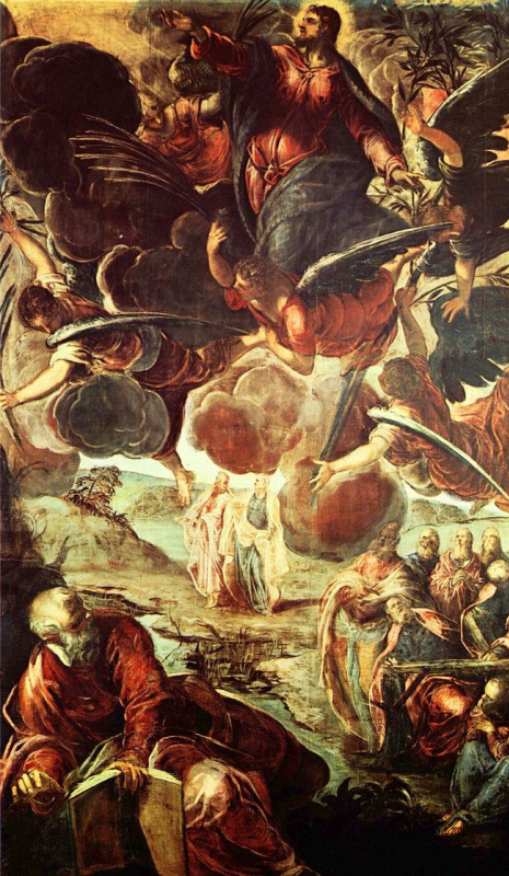 Jacopo Tintoretto. Ascension