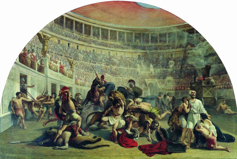 Alexey Tarasovich Markov. Evstafy Plakida in the Colosseum.