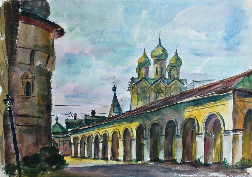 Eduard Stepanovich Kochergin. Rostov the Great