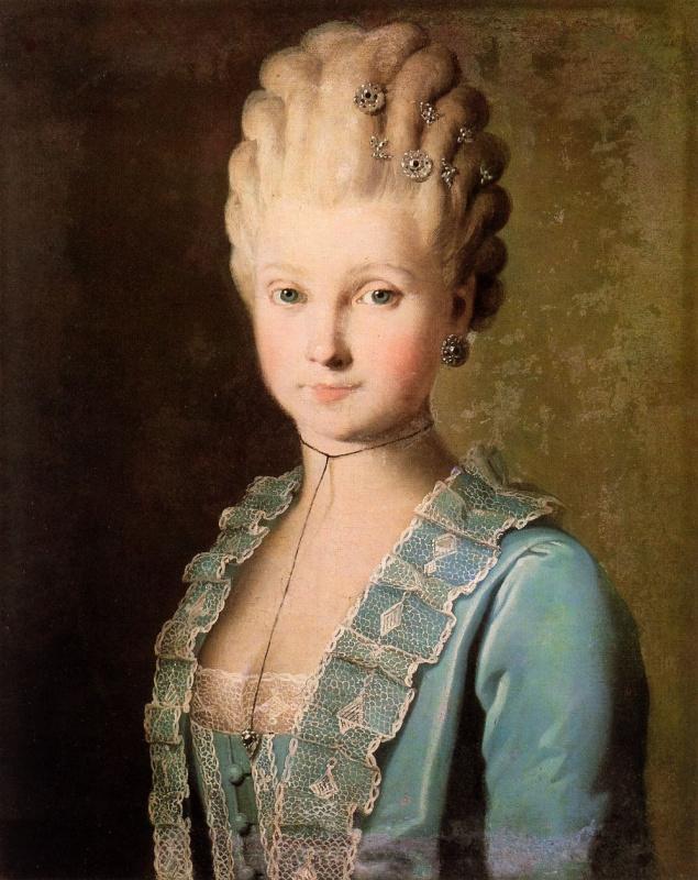 Карл Людвиг Иоганн Христинек. Женский портрет