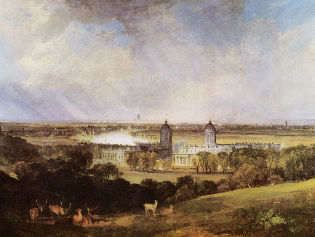 Joseph Mallord William Turner. London, view from Greenwich Park