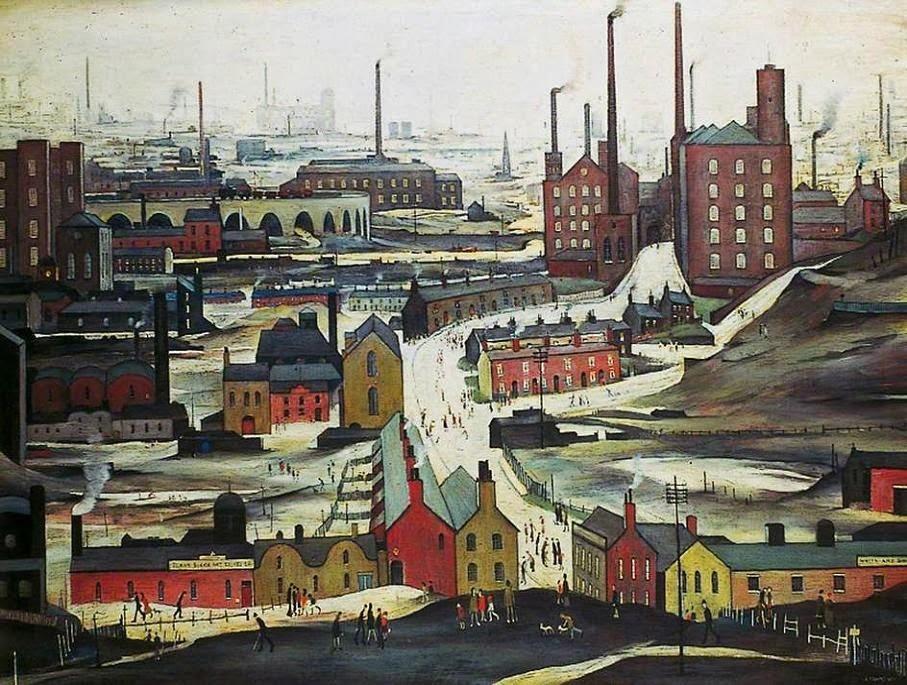 Lawrence Stephen Lowry. Industrial landscape