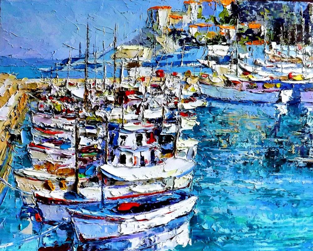 Sergey Yurievich Efremov. In the Greek port