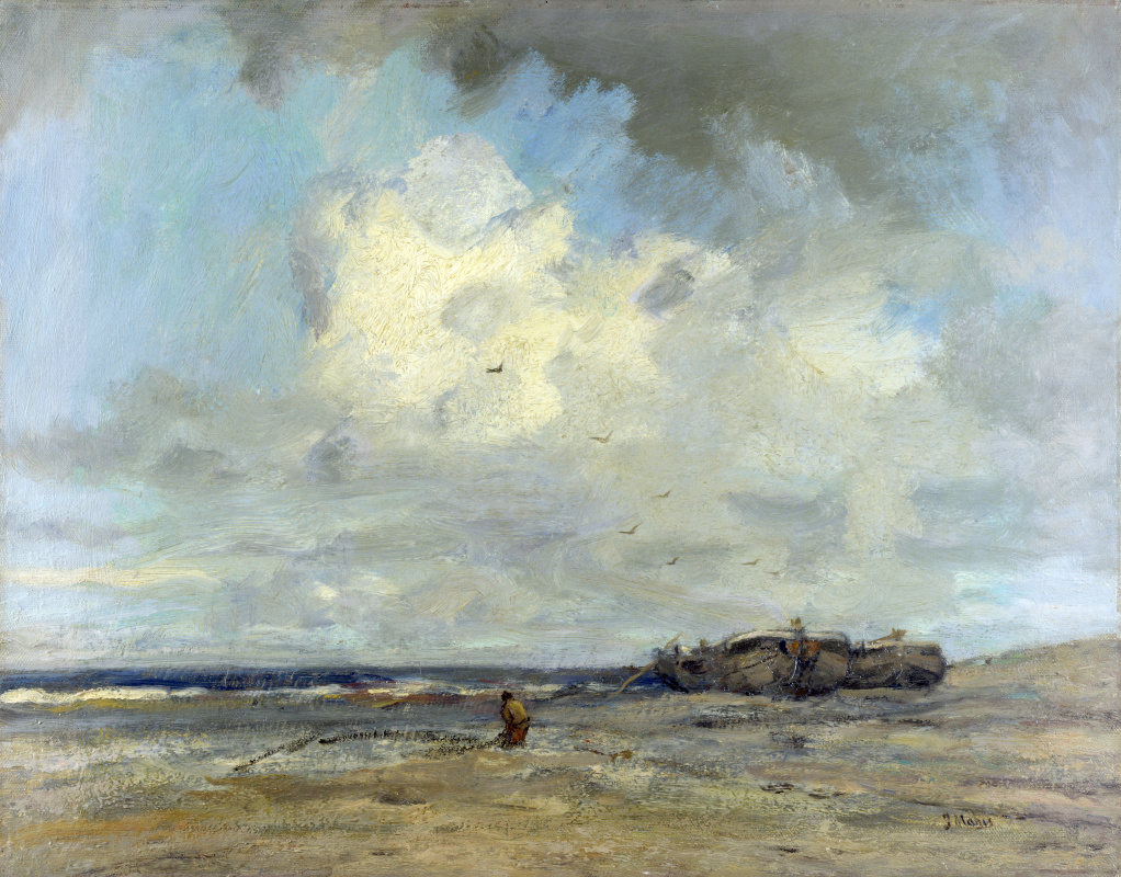 Иаков Марис. Пляж