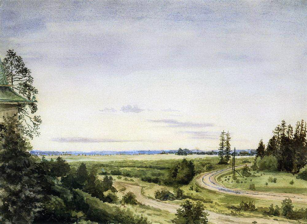 Константин Андреевич Сомов. Август