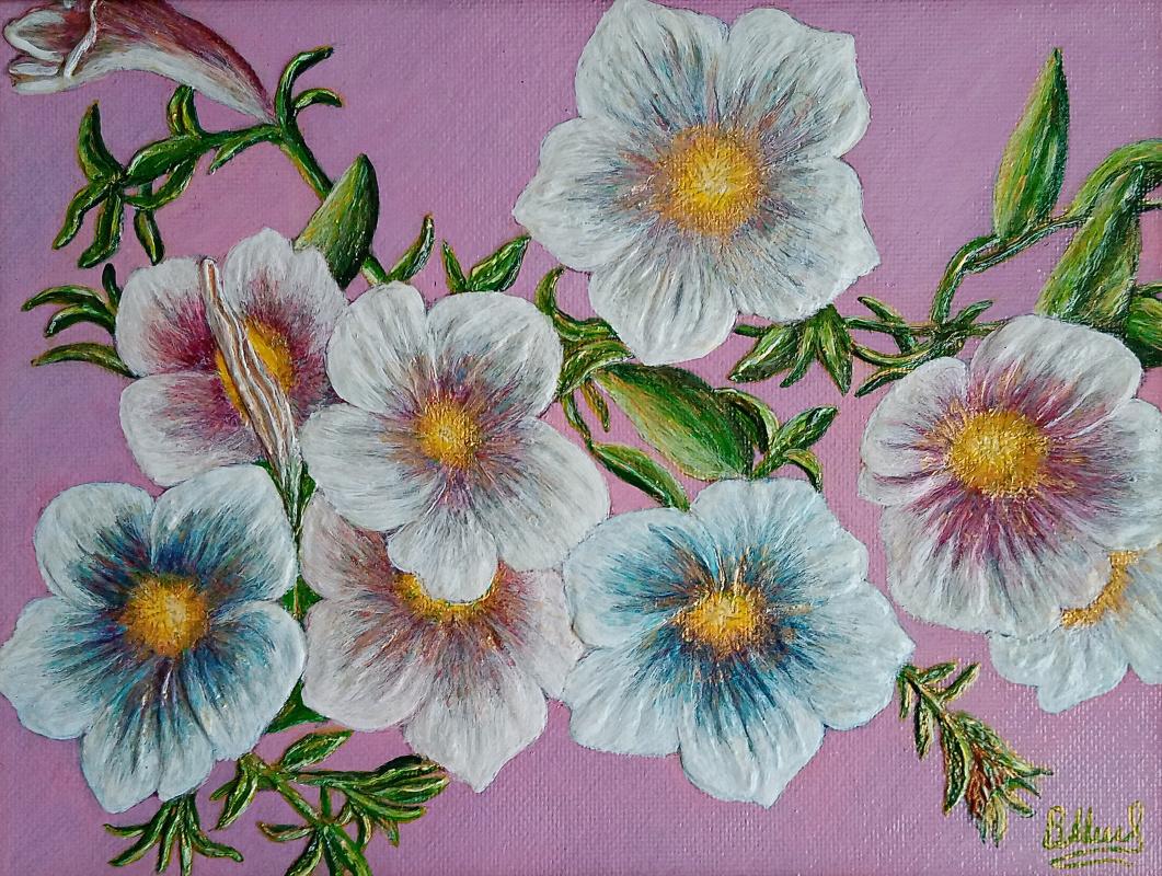 Vasiliy Mishchenko. Белые цветы