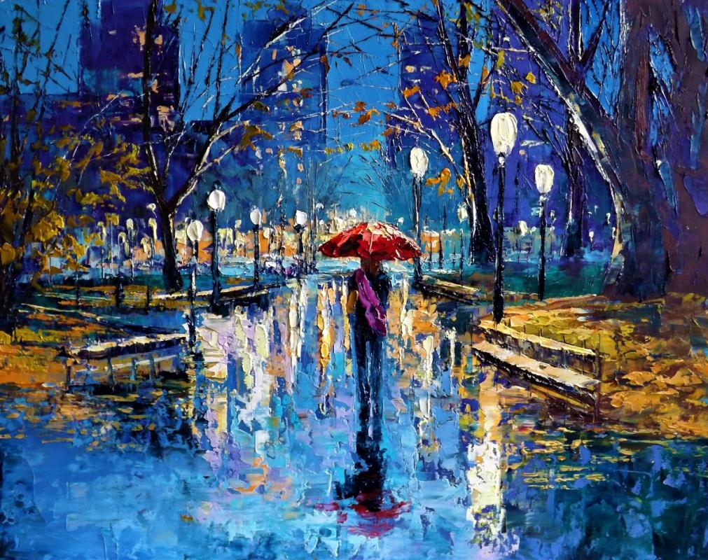 Sergey Yurievich Efremov. Rainy evening