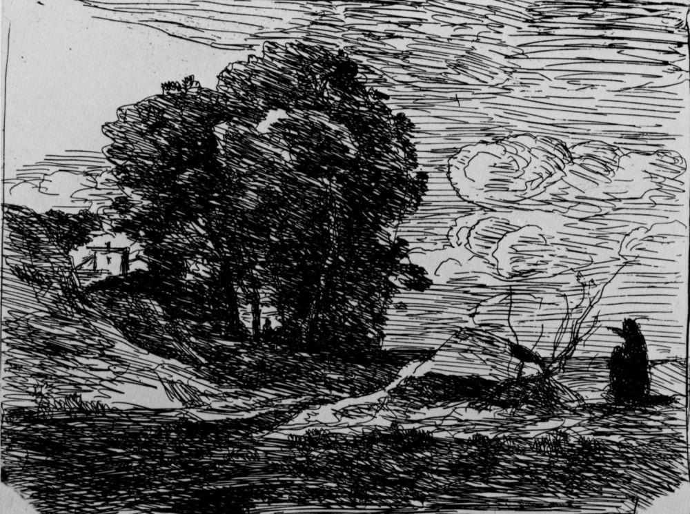 Камиль Коро. Обитель поэта