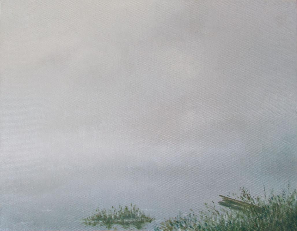 Vladimir Vasilyevich Abaimov. The foggy Lake 1