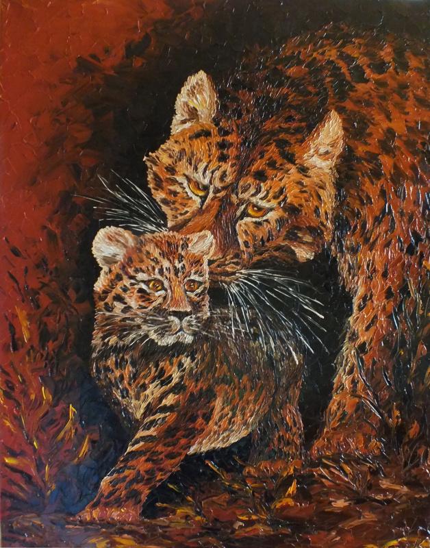 Кристина Смородова. Леопарды