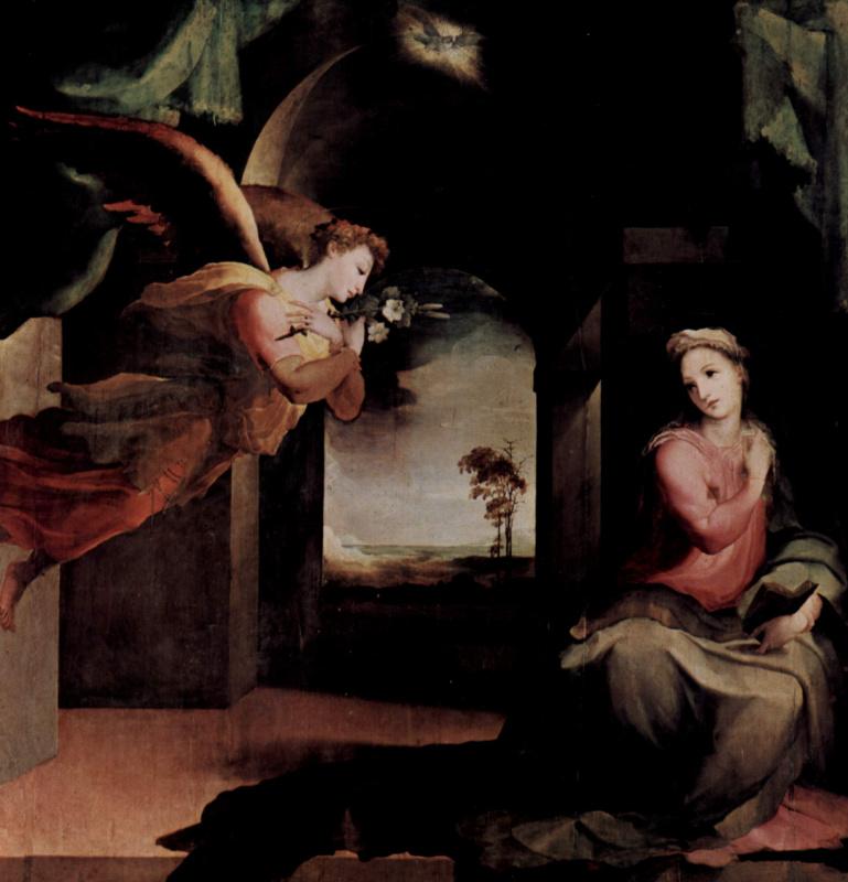 Domenico Beccafumi. The Annunciation