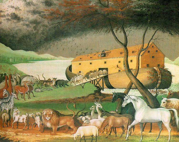 Edward Hicks. The ark