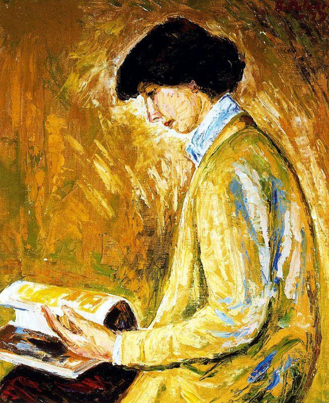 Бенджамин Паленсия. Читающая женщина