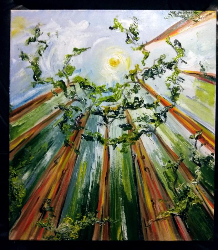 Nadezhda Anatolyevna Poleva. Rainbow eucalyptus