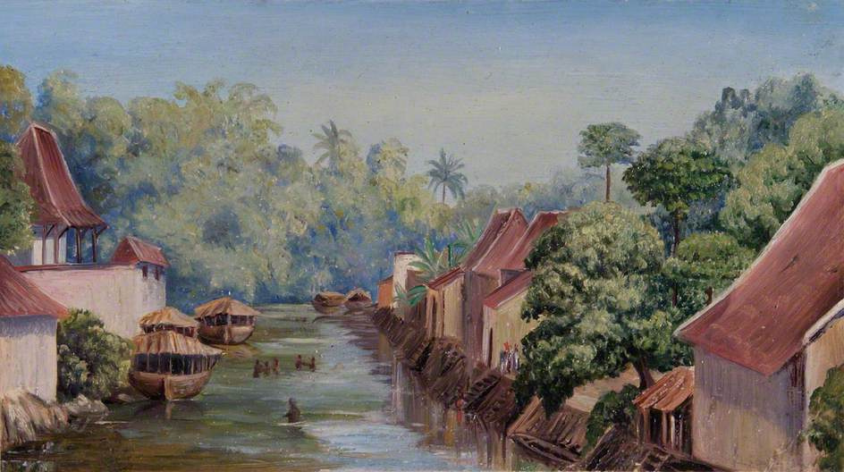 Marianna North. Surabaya, Java