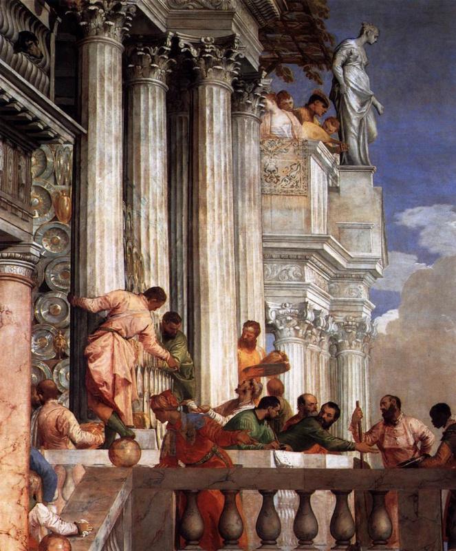 Паоло Веронезе. Свадьба в Кане Галилейской. Фрагмент